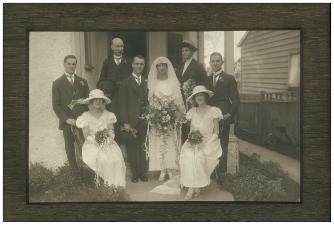1923WeddingLindaKochNormanWebster high res